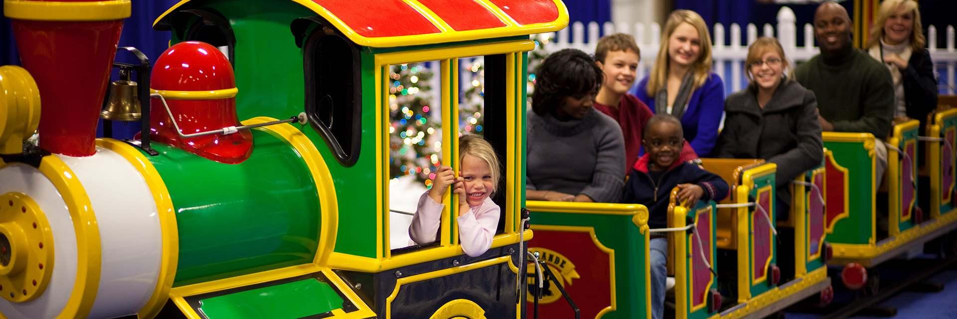 Gaylord National Maryland Village Express Kids Train